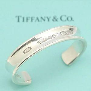 Tiffany & Co. 1837 Silver 925 Cuff Bracelet